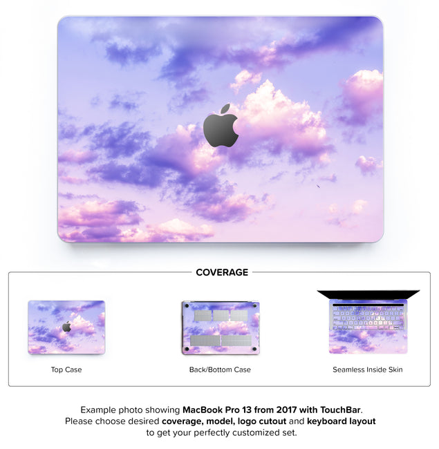 One Bird Sky Hard Case for MacBook Pro 13 with TouchBar