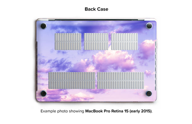 One Bird Sky Hard Case for MacBook Pro Retina 15 - back/bottom case