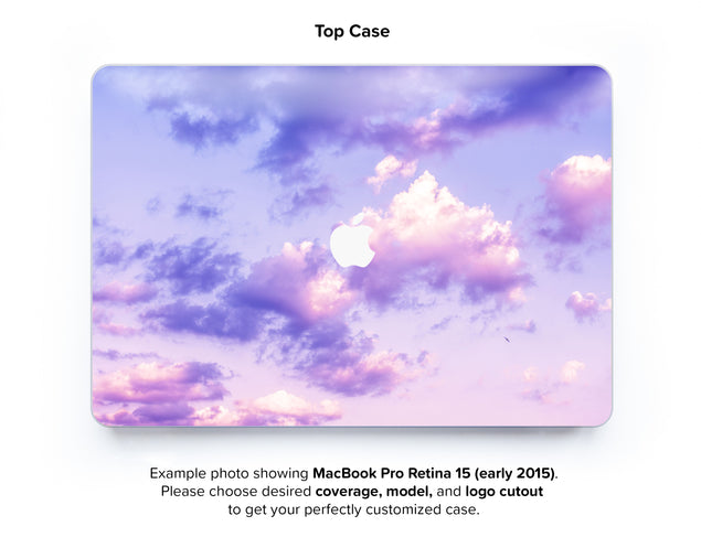One Bird Sky Hard Case for MacBook Pro Retina 15 - top case