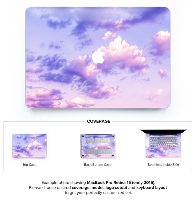 One Bird Sky Hard Case for MacBook Pro Retina 15