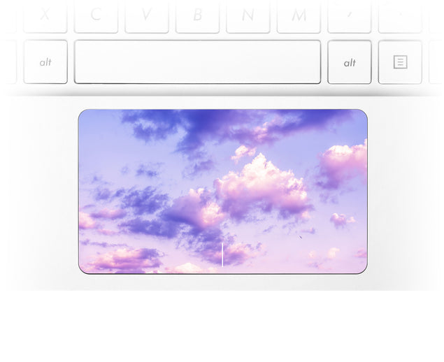 One Bird Sky Laptop Trackpad Sticker