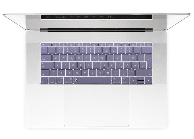 Orchid Gray MacBook Keyboard Stickers alternate