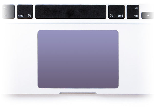 Orchid Gray MacBook Trackpad Sticker alternate
