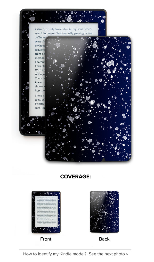 Painting At Night Kindle Skin