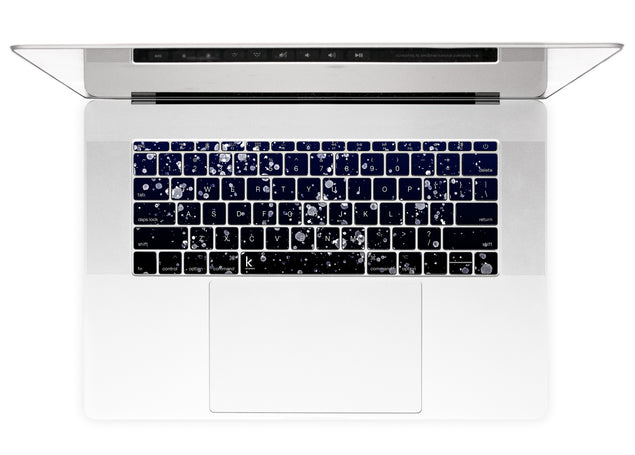 Painting At Night MacBook Keyboard Stickers alternate