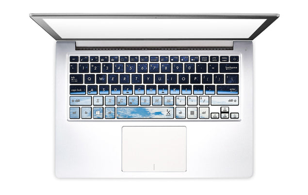 Pale Blue Dot Laptop Keyboard Decal