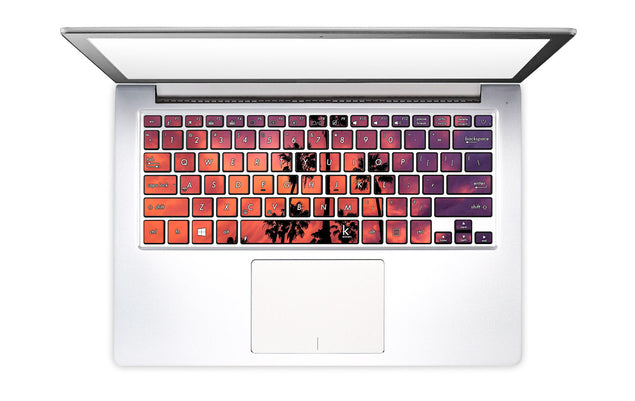 Palm in Shadow Laptop Keyboard Decal