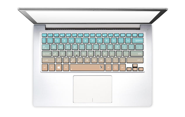 Paradise Pink Ombre Laptop Keyboard Decal
