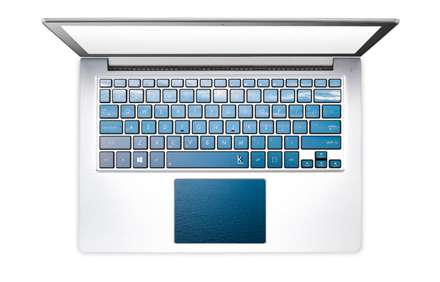 Pastel Ocean Laptop Keyboard Stickers