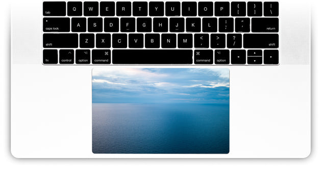 Pastel Ocean MacBook Trackpad Sticker