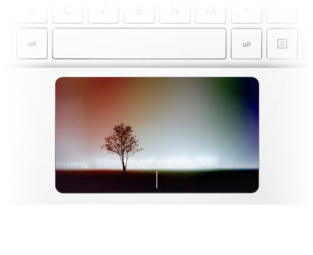 Philly Tree Laptop Trackpad Sticker