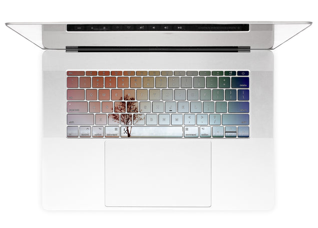 Philly Tree MacBook Keyboard Stickers alternate