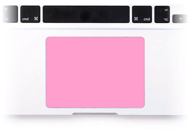 Pink MacBook Trackpad Sticker at Keyshorts.com - 1