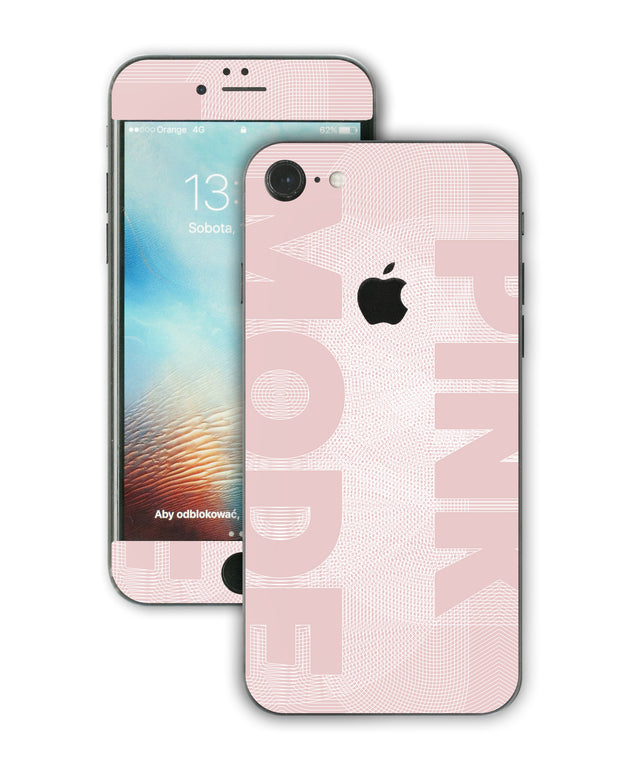 Pink Mode iPhone Skin