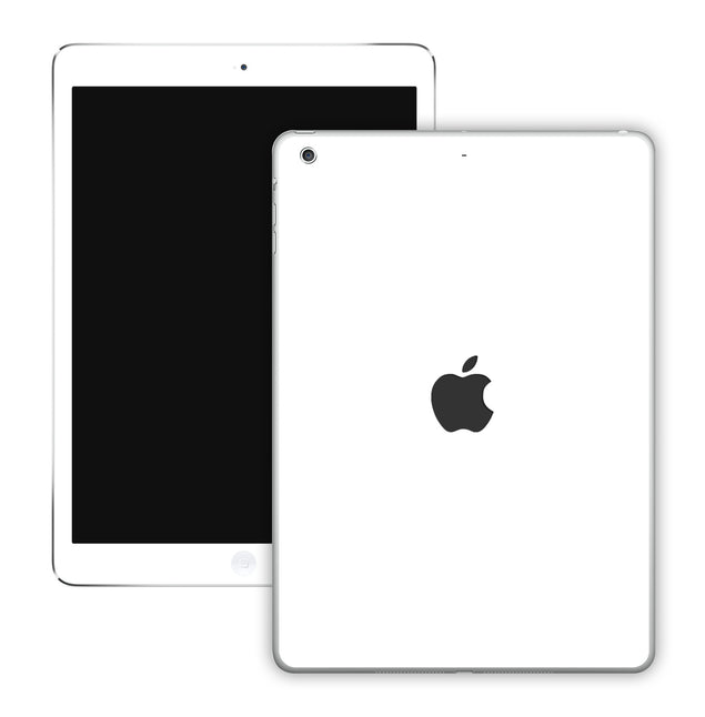 Plain White iPad Skin
