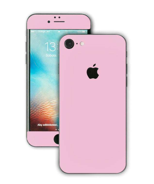 Powder Pink iPhone Skin