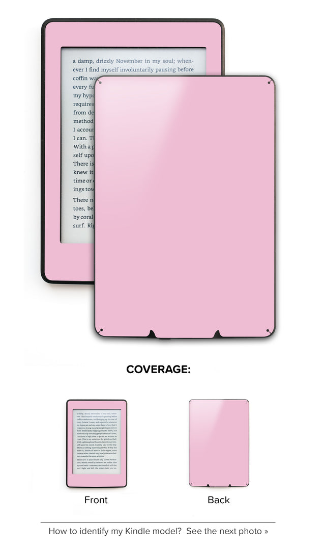 Powder Pink Kindle Skin