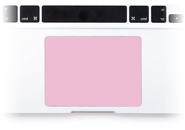 Powder Pink MacBook Trackpad Sticker alternate