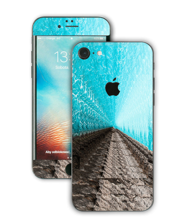 Psycho Wave iPhone Skin