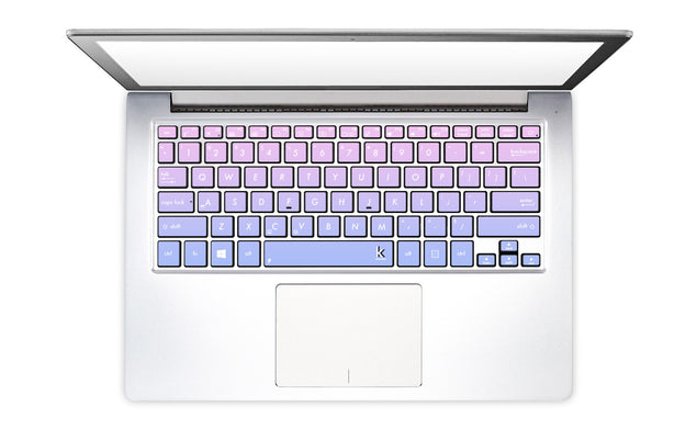 Purple Pink Ombre Laptop Keyboard Decal
