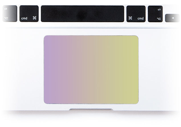 Purpurella Ombre MacBook Trackpad Sticker alternate