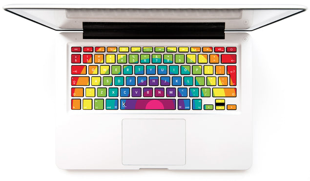 Fairytale Rainbow MacBook Keyboard Decal at Keyshorts.com