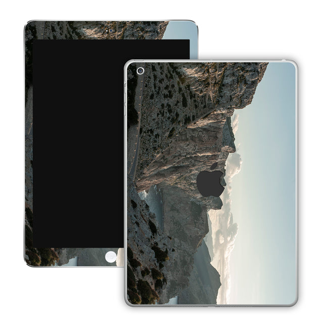 Rocks and clouds iPad Skin