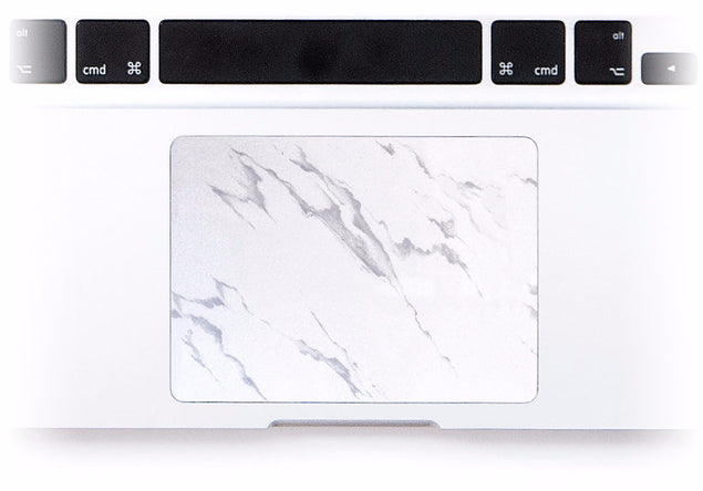 Roman Marble MacBook Trackpad Sticker at Keyshorts.com