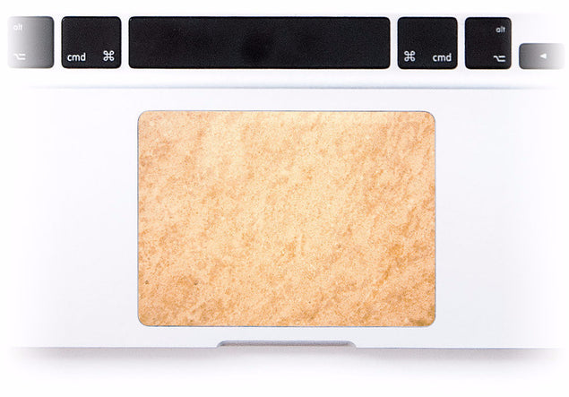 Rose Gold Marble MacBook Trackpad Sticker at Keyshorts.com