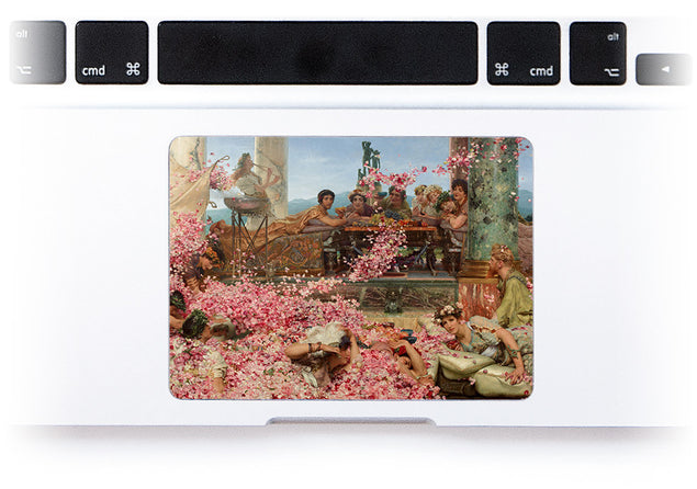 Roses of Heliogabalus MacBook Trackpad Sticker at Keyshorts.com