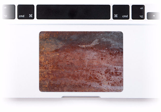 Rust MacBook Trackpad Sticker at Keyshorts.com