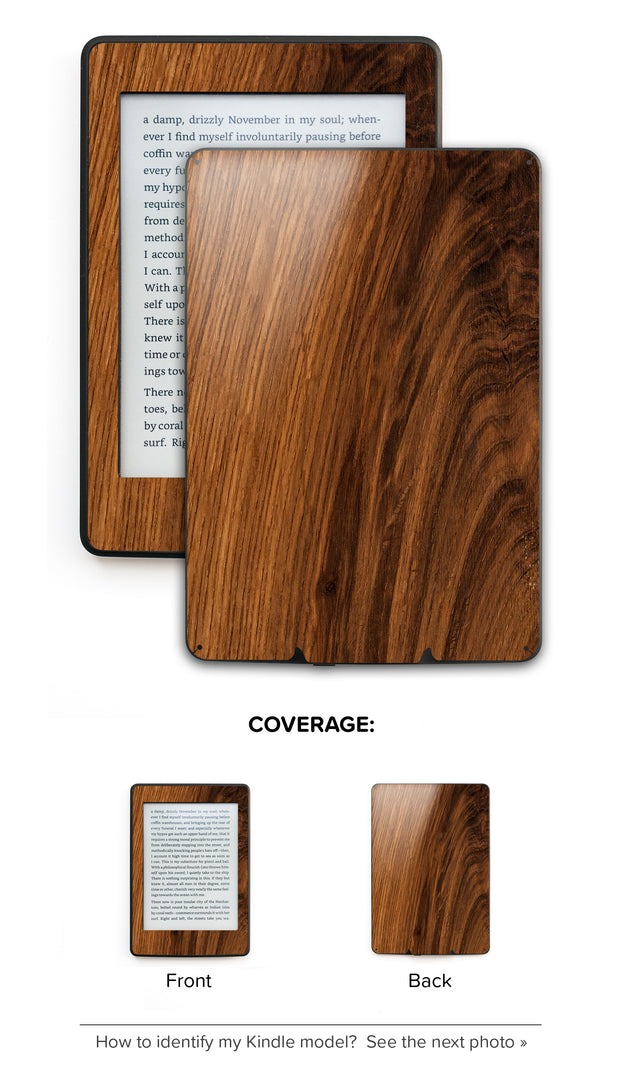 Rustic Wood Kindle Skin