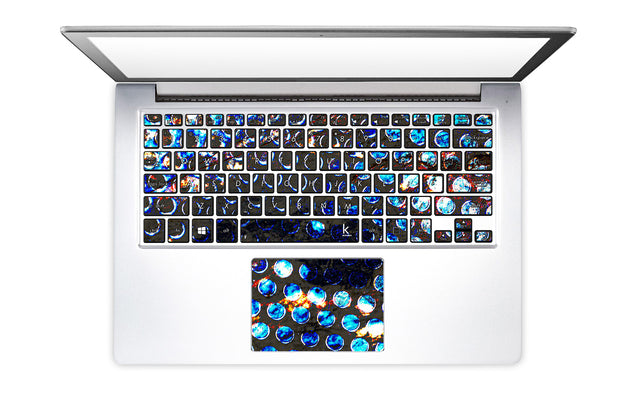 San Diego Night Laptop Keyboard Stickers