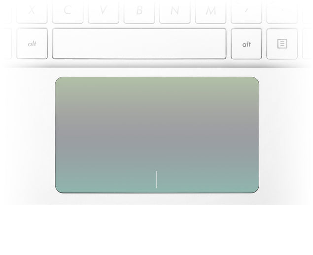 Scandi field ombre Laptop Trackpad Sticker