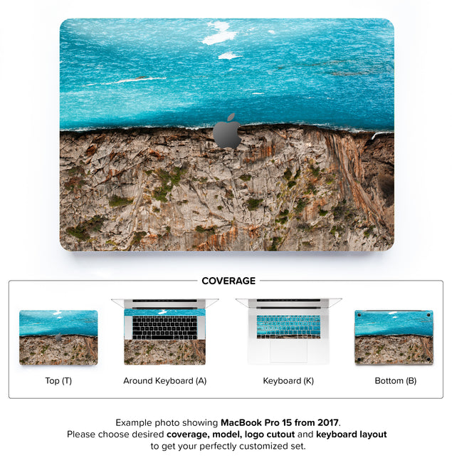 Sea Cut MacBook Skin