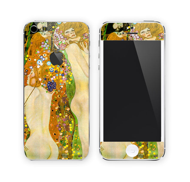 Klimt's Sea Serpents iPhone Skin at Keyshorts.com