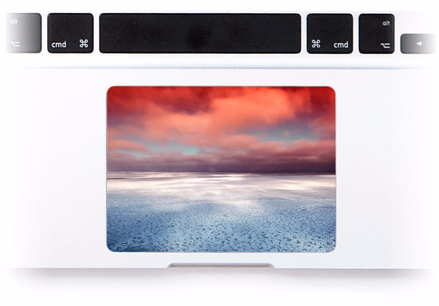 Sea View MacBook Trackpad Sticker at Keyshorts.com