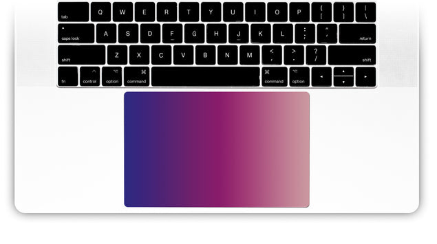 September Wine MacBook Trackpad Sticker