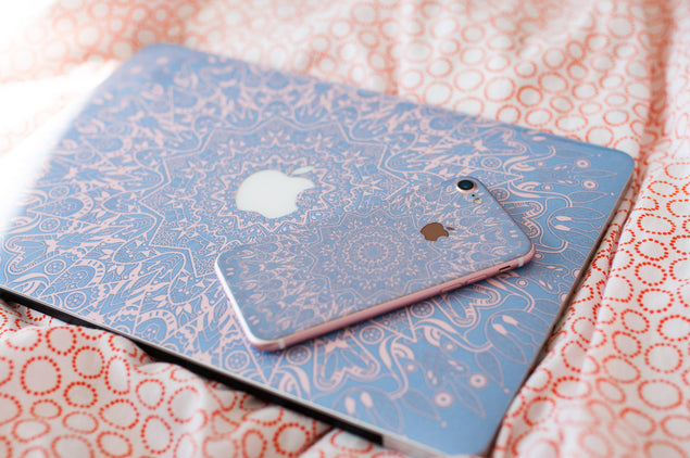Serenity Mandala MacBook Skin