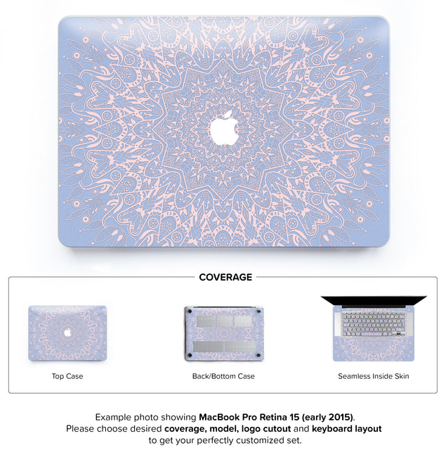 Serenity Mandala Hard Case for MacBook Pro Retina 15
