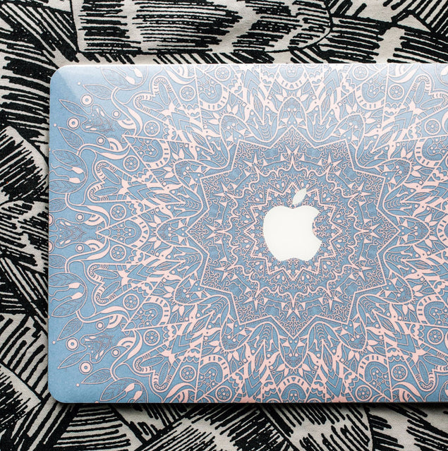 Serenity Mandala MacBook Skin at Keyshorts.com - 2