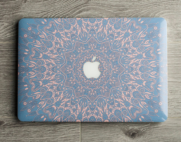 Serenity Mandala MacBook Skin at Keyshorts.com - 3