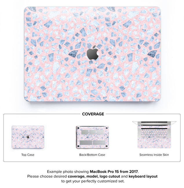 Serenity Terrazzo Hard Case for MacBook Pro 15 with TouchBar