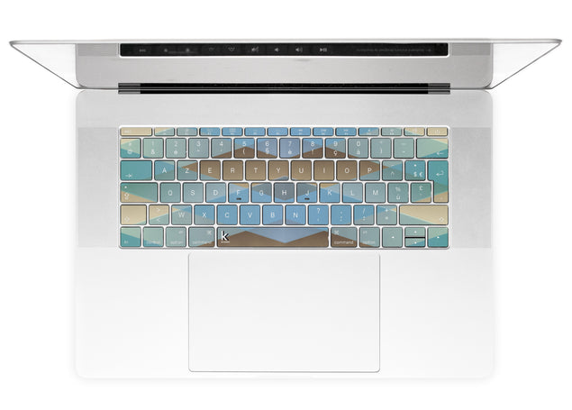 Zulu MacBook Keyboard Stickers alternate