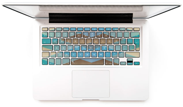 Zulu MacBook Keyboard Stickers