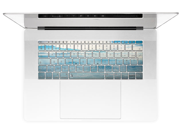 Sicilian Sky MacBook Keyboard Stickers alternate