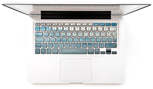 Sicilian Sky MacBook Keyboard Stickers