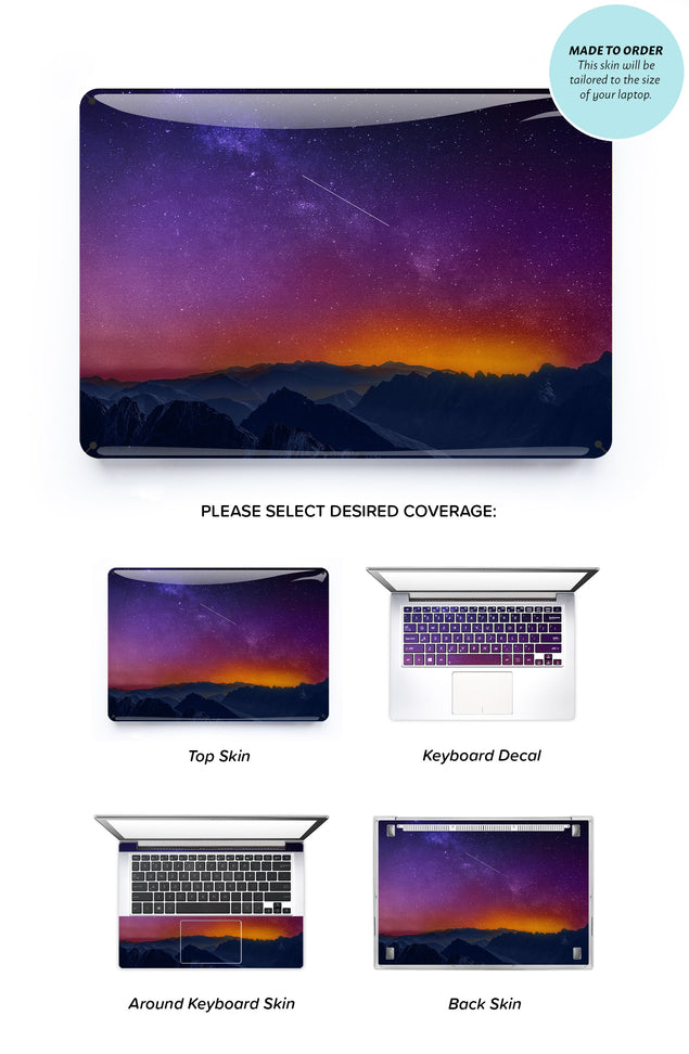 Silent Star 2 Laptop Skin