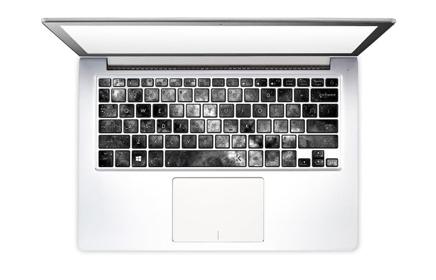 Silverdust Laptop Keyboard Stickers
