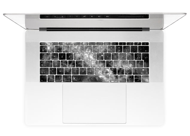 Silverdust MacBook European Keyboard Stickers